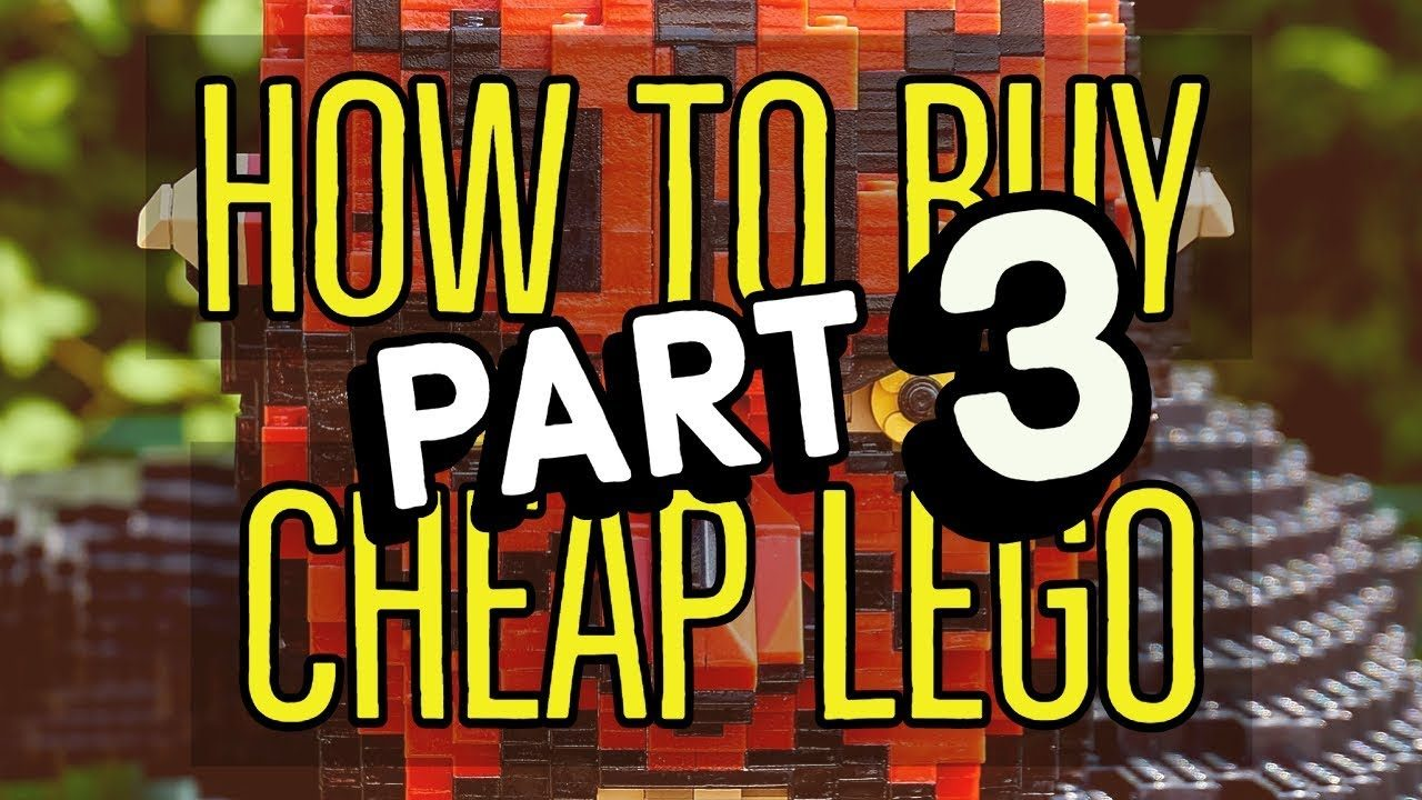 How to buy cheap retired LEGO sets LEGALLY Part 3: Rebrickable and